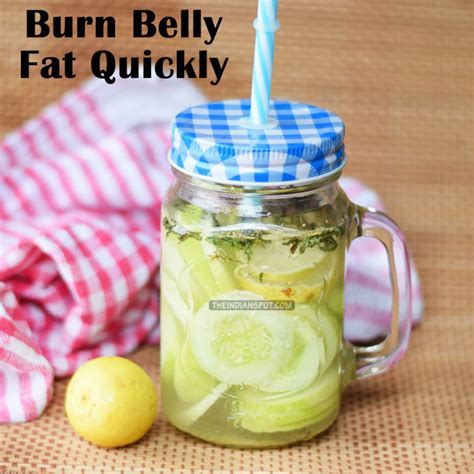 Lemon Water Detox Burn by Detox Water Recipe Cucumber And Lemon Water To Burn