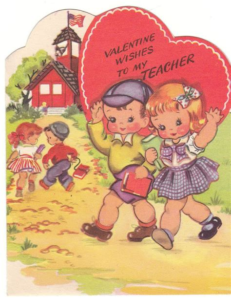 school valentines cards 95 best vintage cards school images on