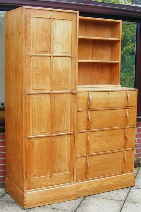 Wardrobe And Chest Of Drawers by An Oak Combination Wardrobe And Chest Of Drawers