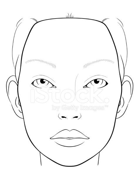 blank makeup template blank makeup charts makeup vidalondon