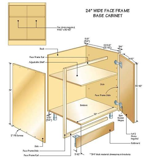 How To Build Kitchen Cabinets Yourself How To Make Kitchen