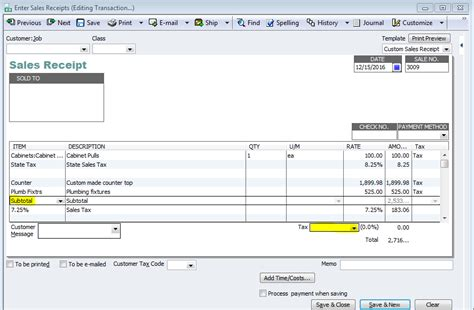 how to enter multiple sales tax rates on an invoice in