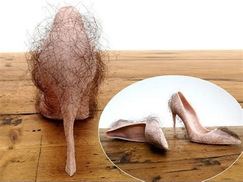 What Type Of Shoo Is For Hair by World S Ugliest Shoes Flesh Pink Stilettos Featuring