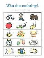 What In This Picture Does Not Belong by Which One Doesn T Belong Free Printable Worksheets
