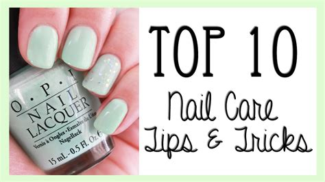 10 Tips For Nails by Top Ten Nail Care Tips Tricks Alovetart