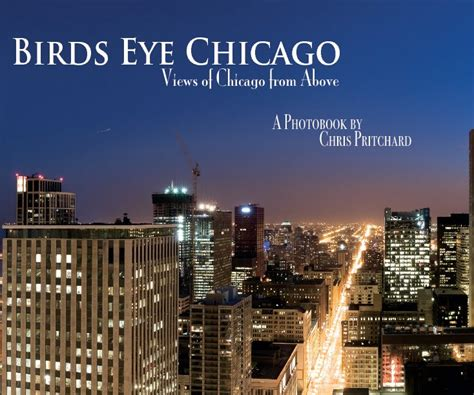 birds eye chicago by chris pritchard blurb books uk