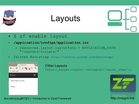 zend layout path introduction to zend framework