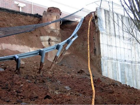 retaining wall collapses home depot canton ga patch