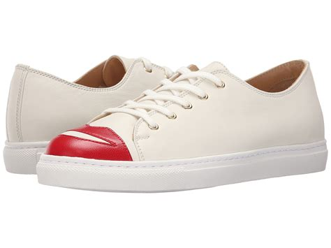 A C C E P T Lip Sneakers Black olympia me sneakers at zappos
