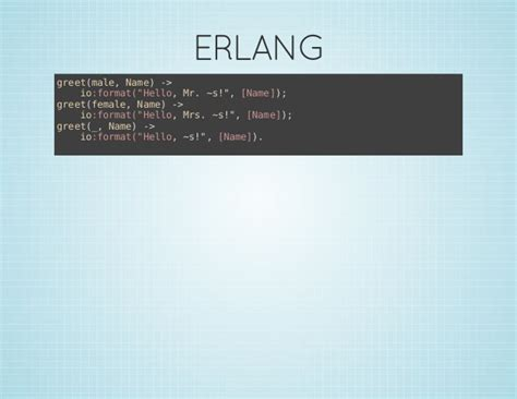 pattern matching erlang functional pattern matching on python