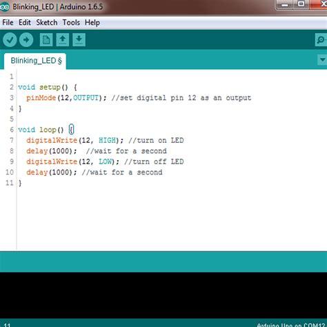 code arduino blink arduino led blinking tutorial 2 makerstream