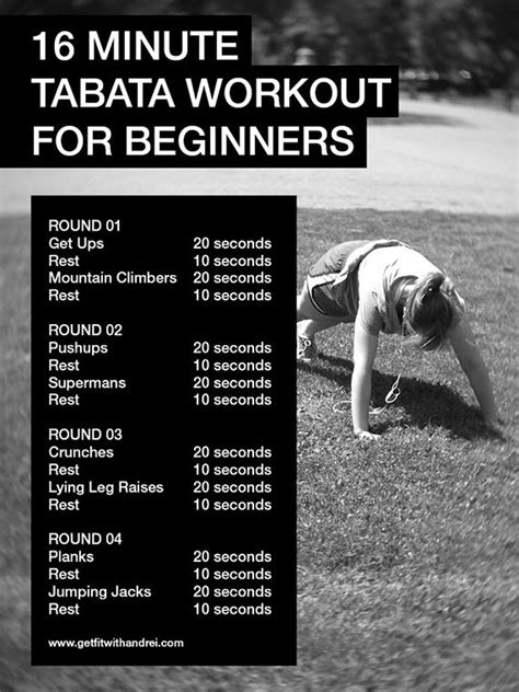 tabata for beginners tabata workouts