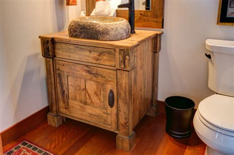 spalted maple vanity cabinet