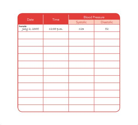 medication chart template 11 free sle exle