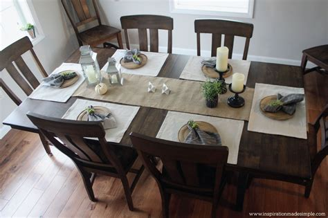 dining room tablescapes rustic dining room tablescape inspiration made simple