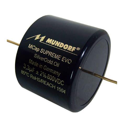 capacitor review mundorf mundorf mcap supreme evo silvergold capacitor 4 3 181 f audiophonics