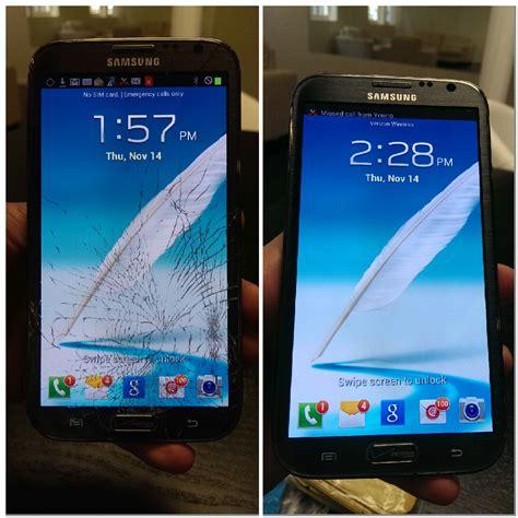 samsung galaxy note 4 spot xl telecom repair samsung galaxy note 2 cracked glass screen repair service