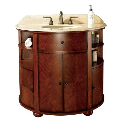 38 Inch Bathroom Vanity 38 Inch Single Sink Bathroom Vanity With Oak Finish And Cr 203 Me Marble Uvacoxfordvs38do38