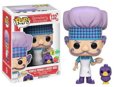 Funko Pop Original Strawberry Shortcake Huckleberry Pie 2 Pack funko san diego comic con 2016 exclusives update july 19 san diego comic con unofficial