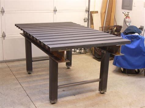 building a new fab weld table part 2