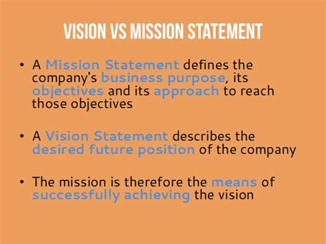 mission statement vs objectives startup gdansk workshop quot vision and values quot 20130915