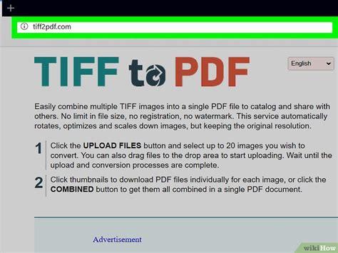 convertir varias imagenes tiff a jpg c 243 mo convertir archivos tiff a pdf 15 pasos con fotos