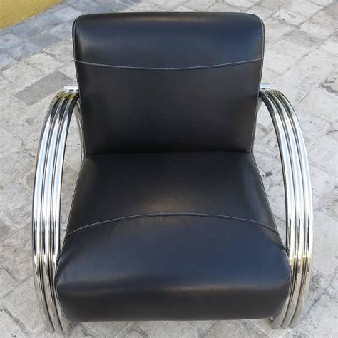 ralph leather chair ralph hudson lounge chair in new black