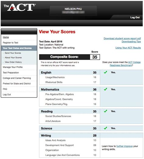 act scores for colleges act scores for college image mag
