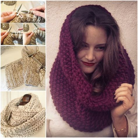 free pattern snood free knitted snood pattern crochet and knitting pinterest