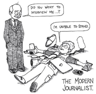 Pers Atau masa depan jurnalistik dan wartawan masa depan romeltea media