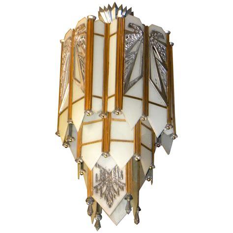 deco chandelier lighting spectacular deco zig zag theater chandelier