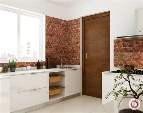 Small Kitchen Idea by 11 Stone Wall Cladding Ideas For Indian Homes