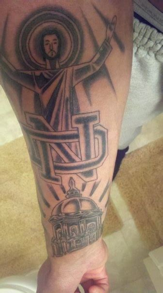 notre dame tattoos 7 best notre dame tattoos images on fighting