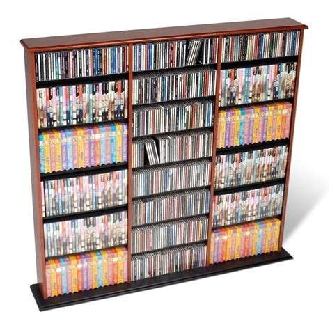 Dvd Wall Shelf by Prepac Width Cd Dvd Wall Storage Media Tower Cherry