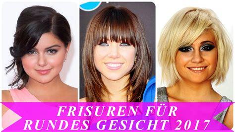 Frisuren Rundes Gesicht by Frisuren F 252 R Rundes Gesicht 2017