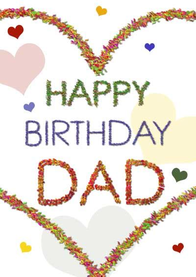 printable birthday cards father printable birthday cards for dad from kids