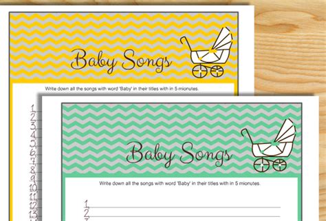 Songs With Baby In The Title Baby Shower by How Many Songs Can You Name With Quot Baby Quot In The Title