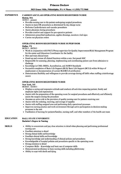 emergency room nurse resume 80022121 operating objective 1a