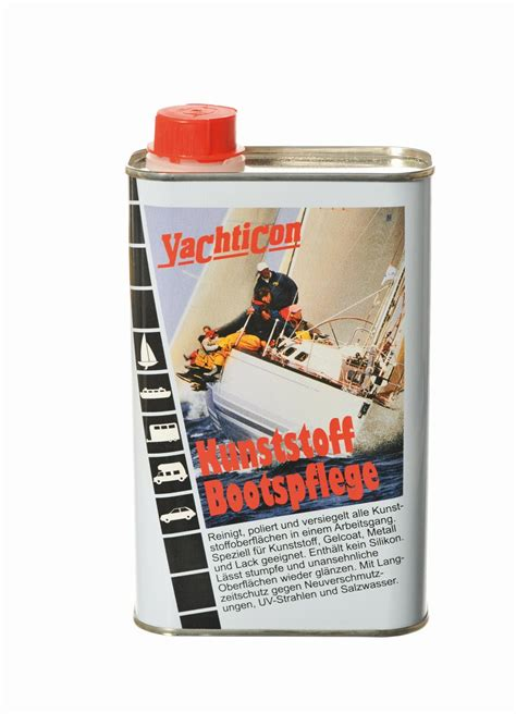 Gfk Gelcoat Polieren by Yachticon Kunststoff Bootspflege 500ml