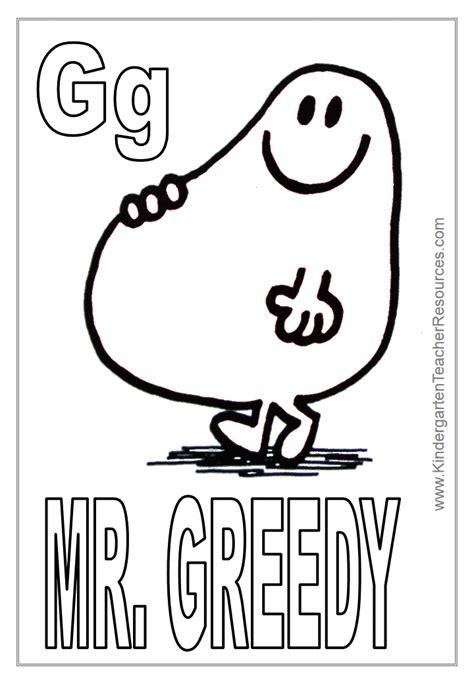 Letter Mister mr coloring pages