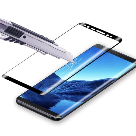 Tempered Glass Samsung Note 8 Cover 3d Lenstempered Glass 3d tempered glass screen protector for galaxy note 8