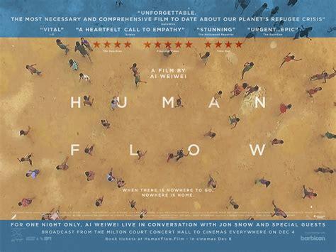 flow movie summary human flow the fan carpet