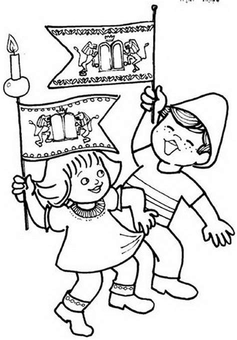 Simchat Torah Coloring Pages coloring pages for simchat torah family