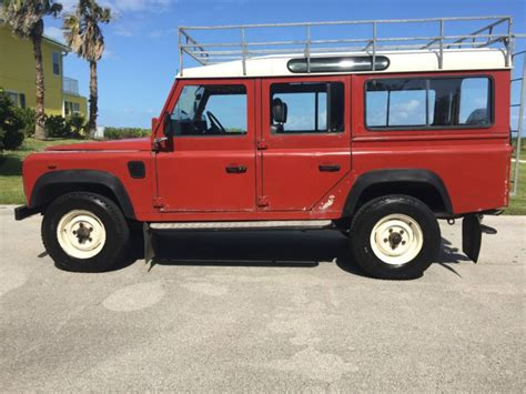how to sell used cars 1986 land rover range rover electronic valve timing buy used 1986 land rover defender in summerland key florida united states for us 16 800 00