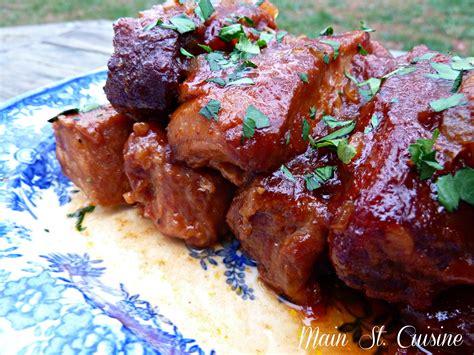 country style bbq pork ribs main st cuisine
