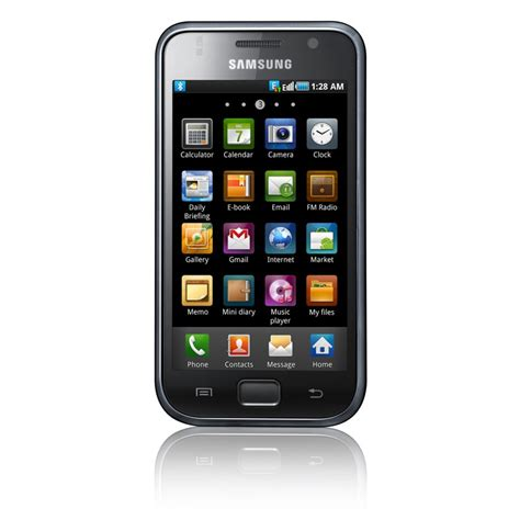 is samsung galaxy an android samsung galaxy s android smartphone announced 1ghz 4 inch amoled screen mobiletechworld