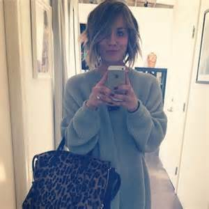 big theory haircut kaley cuoco has cut her hair short and it looks lovely