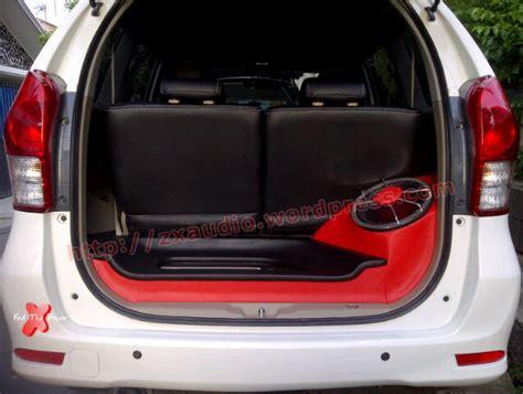 Speaker Untuk Mobil mobil toyota avanza zx audio