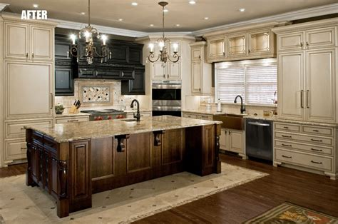 Granite Countertops Alpharetta by Pot Filler Tumbled Linear Tiles Backsplash Taupe