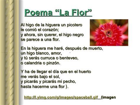 poemas con imagenes sensoriales gustativas un poema de cuatro estrofas que contenga la palabra flor
